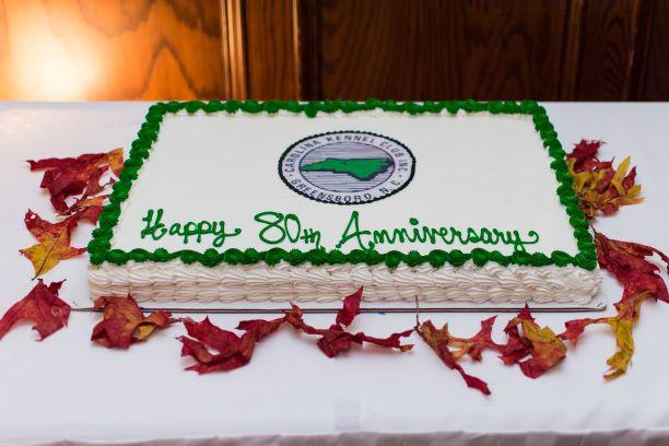 80the Anniversary cake