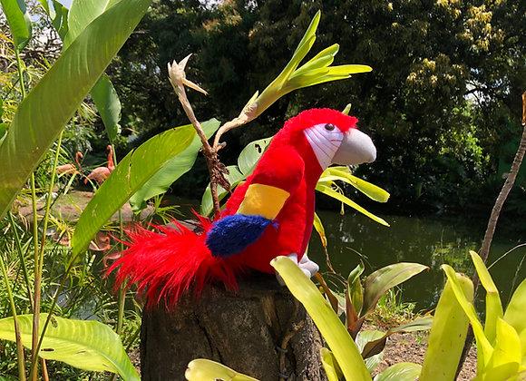 GUACAMAYO BANDERA (24cm)