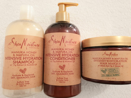 Shea Moisture Manuka Honey & Mafura Oil Collection Review