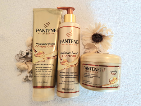 Pantene Gold Series Collection Review