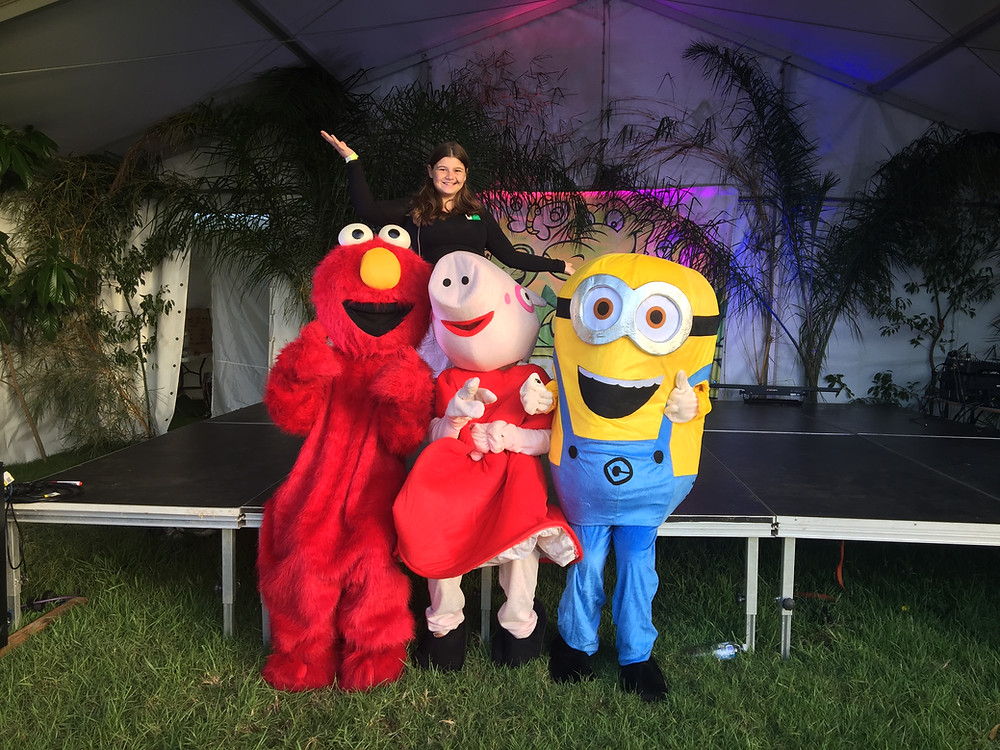 Showtime Jumping Castle Hire & Mascot Hire Entertainer Coffs Harbour