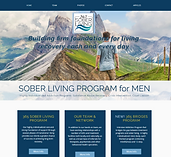 therapist website design