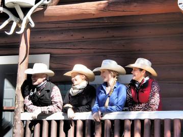 The Stewart family in Banff