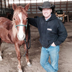 Keith and gelding