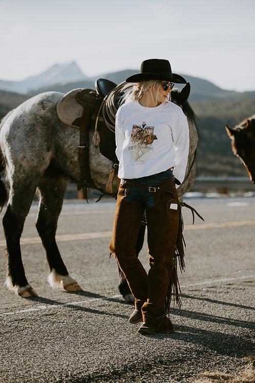 The Key Ranch Unisex Heavy Blend Crewneck Sweatshirt