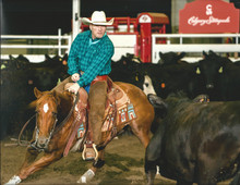 Keith & Icey at Calgary Stampede cutting