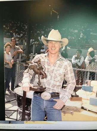 Kieth and his bronze - CS 1980