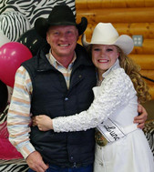 Keith and Shelby at the Alberta High School finals