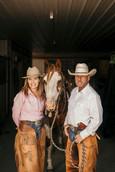 Denice & Keith at the ranch