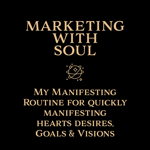 My Manifesting Routine For Quickly Manifesting Hearts Desires, Goals, & Visions
