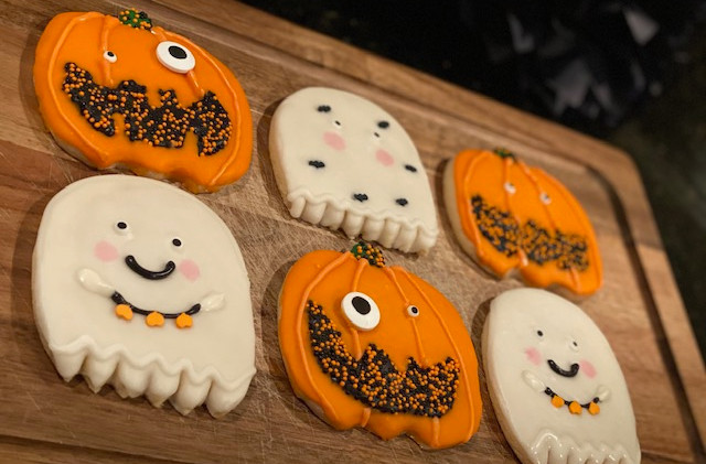 Custom Halloween Cookies Food-Delivery