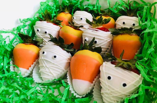 Custom Halloween Strawberries Food-Delivery