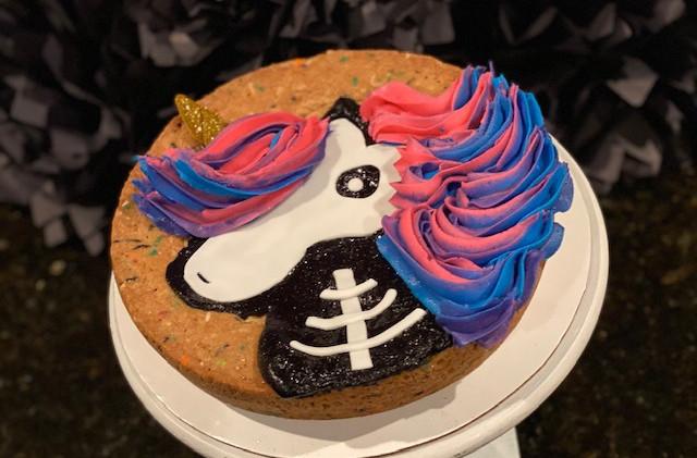 Custom Halloween Cookie Cakes Food-Delivery