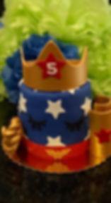 Wonder Woman Accessory Lashes Cake 3.jpg