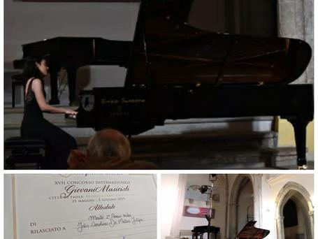 Prize Winner-XVII Concorso Internazionale S. Francesco di Paola, Italy