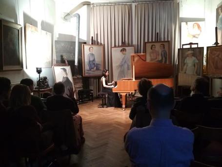 Piano Recital at Atelier Marcel Hastir - Brussels '19