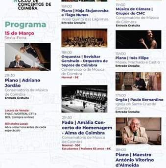 Ciclo Concertos Coimbra '19