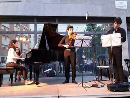 ArsisTrio Concert, Barcelona, Musica als Parcs'18