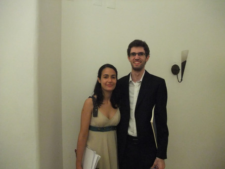 After Concert - Inês Filipe and Yevgeny Yontov (winners SIPO'12)