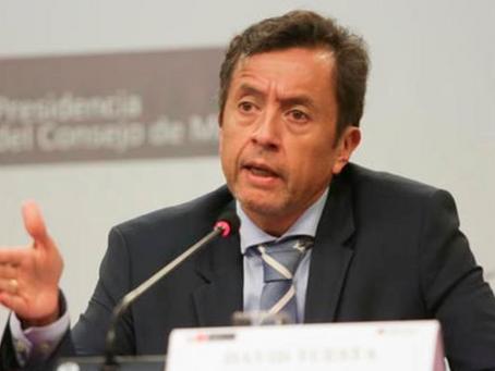 David Tuesta presenta su renuncia al Ministerio de Economía