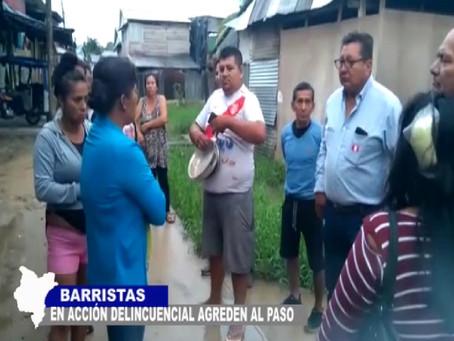 BARRISTAS EN ACCIÓN DELINCUENCIAL AGREDEN AL PASO VECINOS SALEN A PROTESTAR