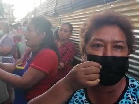 VENDEDORES DE CALLE CELENDÍN PROTESTAN CONTRA REUBICACIÓN