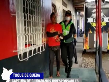 CAPTURAS DE CIUDADANOS IRRESPONSABLES