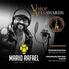 Locutor loretano Mario Rafael Saavedra ganó Premio Sovas: Los Oscar de la voz