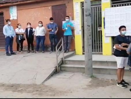 ONPE TRASLADA MATERIAL ELECTORAL AL INTERIOR DE LA REGIÓN