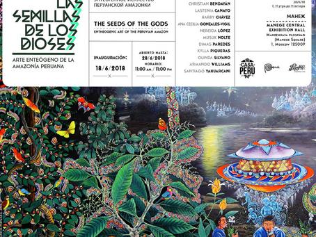 Mundial Rusia 2018: el arte amazónico se lucirá en la Casa Perú de Moscú
