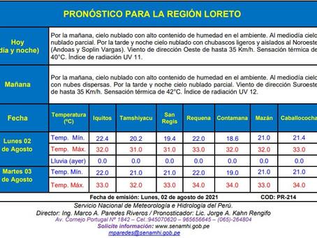 PRONOSTICO Y REPORTE HIDROLOGICO REGIONAL