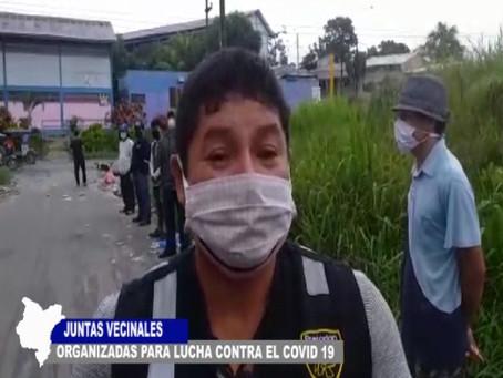 JUNTAS VECINALES ORGANIZADAS PARA LUCHAR CONTRA EL COVID-19