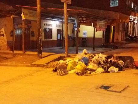 En Belén tampoco pueden con la basura.