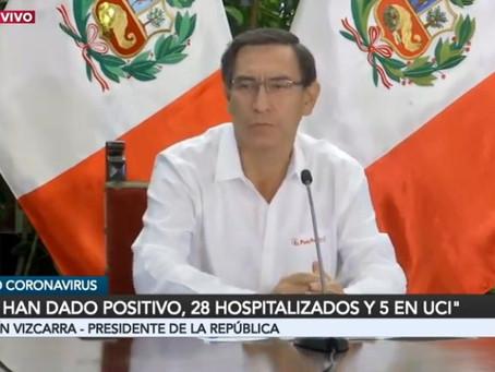 Presidente Vizcarra lamenta fallecidos por covid-19 e incide en Aislamiento Social Obligatorio