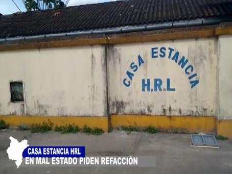 ALBERGADOS EN CASA ESTANCIA DEL HOSPITAL REGIONAL PIDEN REFACCIÓN POR MAL ESTADO QUE PRESENTA