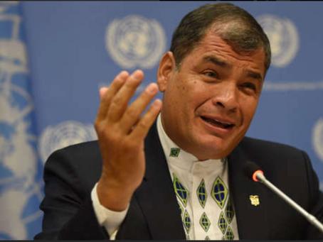 Fiscalía de Ecuador pidió prisión preventiva contra expresidente Rafael Correa