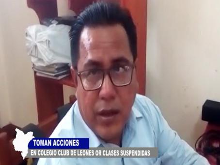 COLEGIOS EN IQUITOS TOMAN ACCIONES POR CLASES SUSPENDIDAS HASTA EL 30 DE MARZO