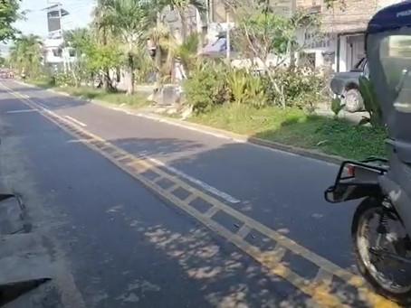 Retiran material de ciclovías que perjudicaba a vecinos en calle Bolognesi