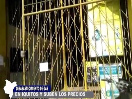 DESABASTECIMIENTO DE GAS EN IQUITOS Y SUBEN LOS PRECIOS DEL BALÓN EN DISTRIBUIDORES