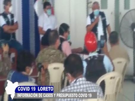 SALUD INFORMA SOBRE CASOS Y PRESUPUESTO COVID -19 PARA AFRONTAR PANDEMIA