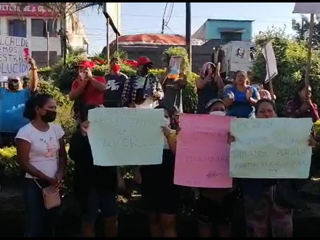 PROTESTAN EN MUNICIPIO DE SAN JUAN
