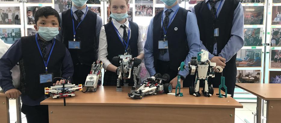 Eine Stunde mit Robotern