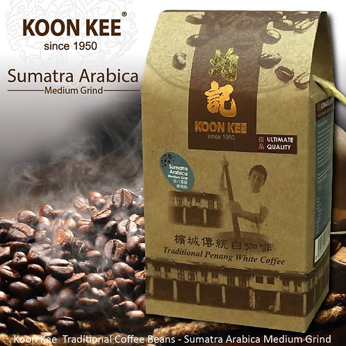 Koon Kee Traditional Roasted Coffee - Sumatra Beans, Medium Grind