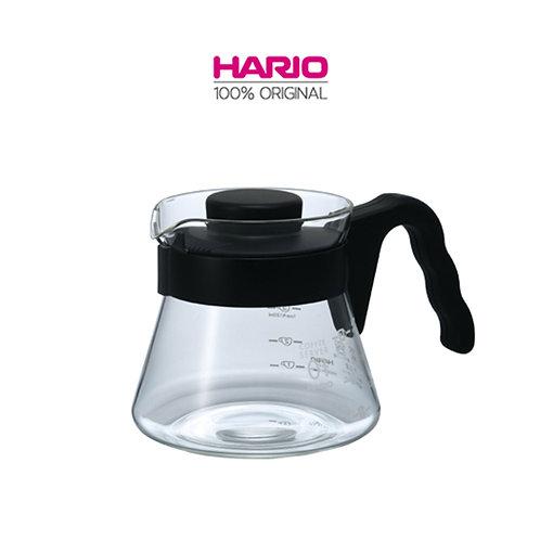 Original HARIO V60 Coffee Server, Black, 450ML