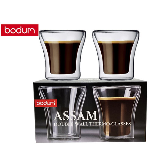 Original BODUM Assam Double Wall Thermo-Glasses, 200 ml (2 piece set)