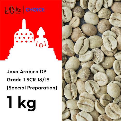 Java Arabica DP Grade 1 SCR 18/19 (Special Preparation)