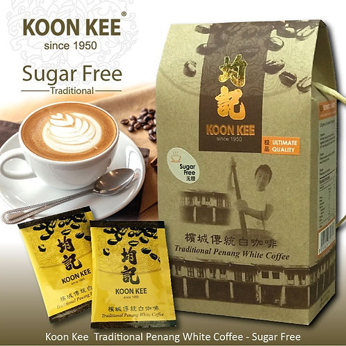 Koon Kee Traditional Penang White Coffee - Original Sugar Free