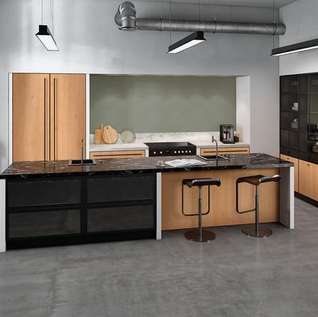 № RP 59 Кухня Rotpunkt Küchen Zerox Black Line VER RW - Real Wood Nature