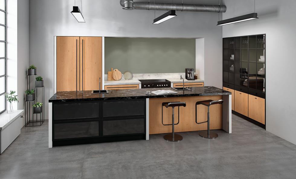 RotPunkt Küchen Zerox Black Line VER RW