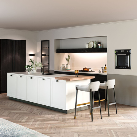 № RP 60 Кухня Rotpunkt Küchen          You OL - Black OL | Memory OL Zero - Black OL | Mikron MX - White MX